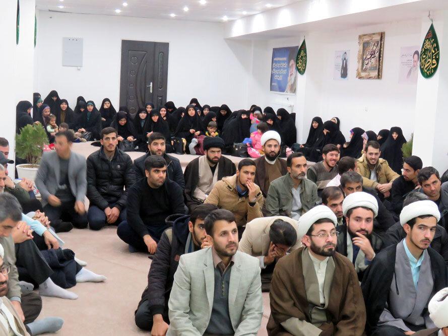 نشست خانواده بسیجی در حوزه علمیه خراسان شمالی