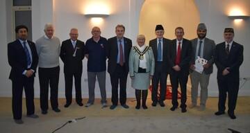 پنجمین سمینار صلح در مسجد هارتل پول بریتانیا برگزار شد
