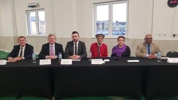 جلسه پرسش و پاسخ از نامزدهای انتخاباتی از احزاب بریتانیا در مسجد آبردین