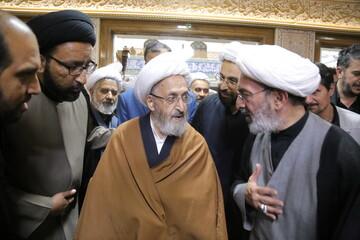 تصاویر/ مراسم بزرگداشت مرحوم حجت الاسلام والمسلمین حاج شیخ عباس صالحی منش