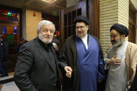 تصاویر / مراسم بزرگداشت علامه جعفر مرتضی در مسجد نور تهران