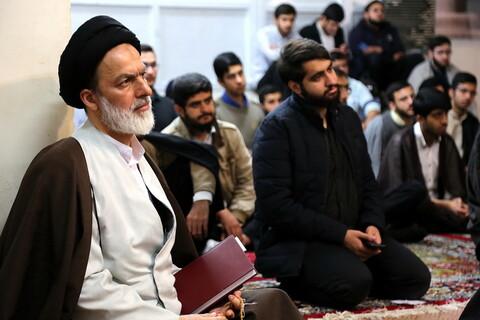 نشست سیاسی با موضوع بررسی حوادث اخیر در مدرسه علمیه مهدی موعود(عج)