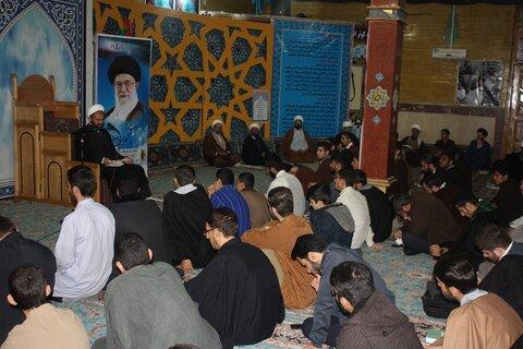 حجت الاسلام شمس الله جلیلیان مسئول نمایندگی ولی فقیه در سپاه کرمانشاه