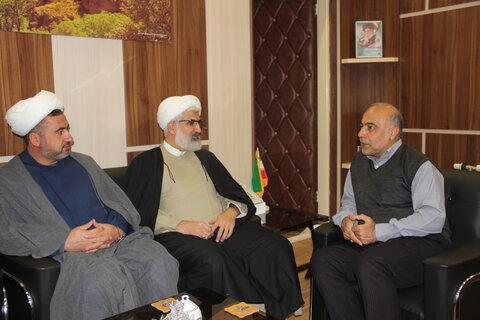 دیدار با مدیر کل منابع طبیعی استان قزوین