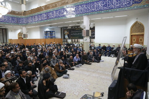 تصاویر / مراسم بزرگداشت حجت الاسلام والمسلمین حاج شیخ عباس صالحی منش(ره)
