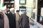 شبکه فیبرنوری و فرستنده های تلویزیونی امامزاده محمدبن باقر(ع) بوشهر رونمایی شد