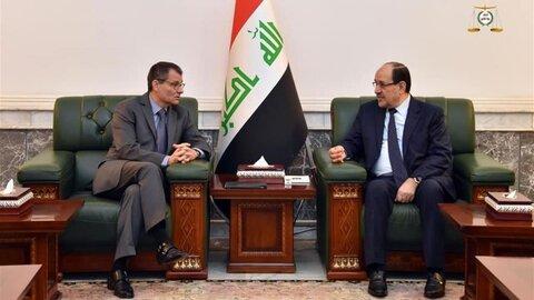 نوری مالکی رئیس ائتلاف دولت قانون عراق