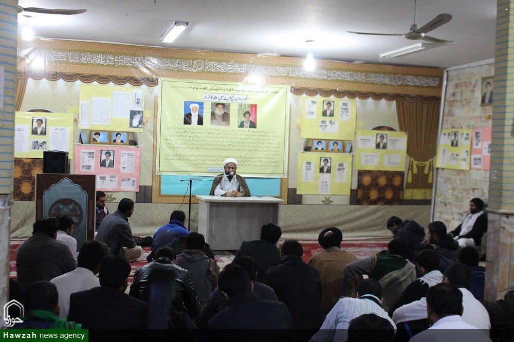 تصاویر/ سالگرد حجتالاسلاموالمسلمین سید صفدر حسین نجفی در مدرسه امامالمنتظر قم