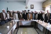 تصاویر/ اجلاسیه مدیران مدارس علمیه آذربایجان شرقی