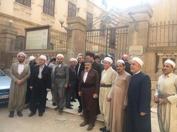 ائمه جماعت اقلیم کردستان از زیارتگاه های مصر بازدید کردند+ تصاویر