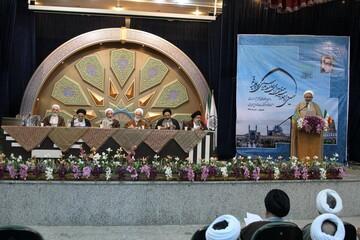تصاویر/ نشست عمومی نهمین اجلاس منطقهای جامعه مدرسین و علمای بلاد در اصفهان-۲