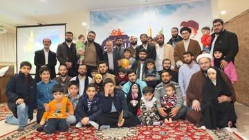 اردوی زیارتی مبلغین هجرت و مدارس امین تهران در مشهد+ عکس