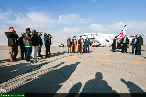 تصاویر سفر روز اول آیت الله رئیسی به اصفهان