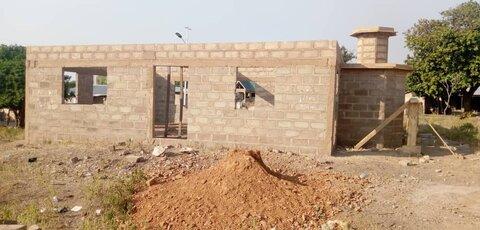 بنیاد خیریه اسلامی در غنا مسجدسازی می کند