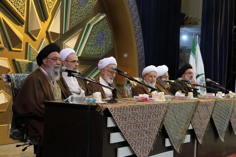تصاویر/ نشست عمومی نهمین اجلاس منطقه ای جامعه مدرسین و علمای بلاد در اصفهان