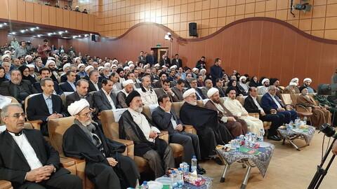 تصاویر/ آیین تکریم و معارفه نماینده ولی فقیه در استان لرستان و امام جمعه خرم آباد