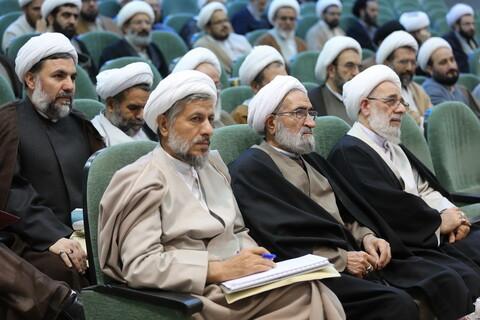 تصاویر/ نشست عمومی نهمین اجلاس منطقهای جامعه مدرسین و علمای بلاد در اصفهان-2