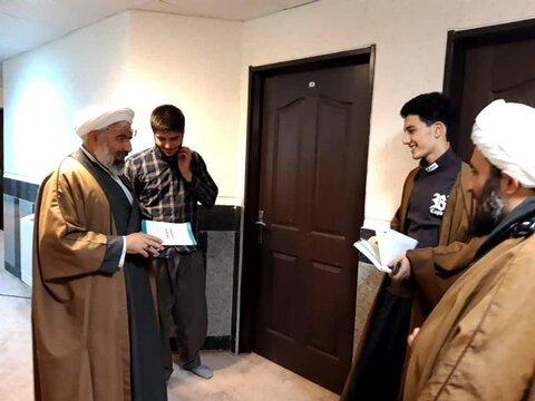 بازدید مدیر استان از مدرسه علمیه امام خامنه ای ارومیه