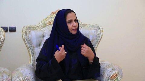 """""""علیاء فیصل عبد اللطیف"""" وزیر حقوق بشر یمن"""