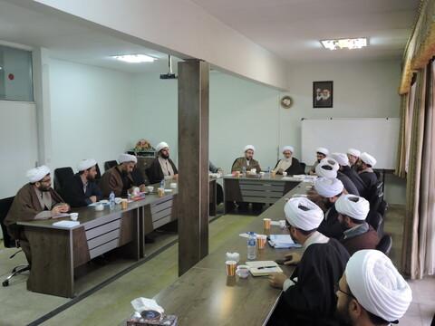 اجلاسیه مدیران مدارس علمیه آذربایجان شرقی
