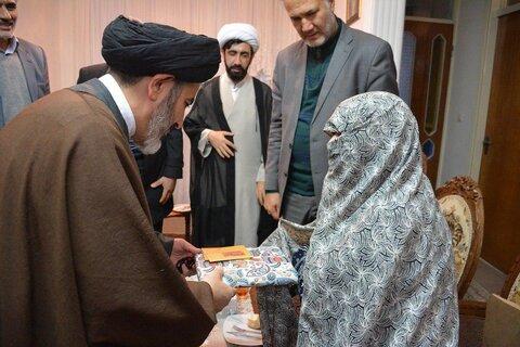 دیدار امام جمعه ارومیه با خانواده شهدا