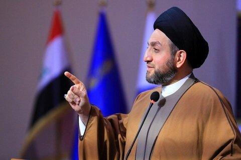 سید عمار حکیم رئیس جریان حکمت عراق