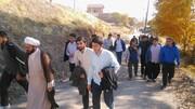 کوهپیمایی طلاب و اساتید مدرسه امام صادق (ع) قزوین+ عکس