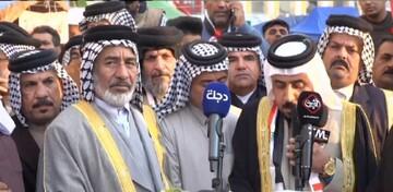 شیوخ عشایر نجف اشرف بر حرکت در مسیر آیت الله العظمی سیستانی تأکید کردند
