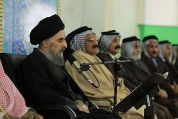 آية الله المدرسي يدعو العشائر الى تحمل مسؤوليتهم في الحفاظ على سلمية المظاهرات ومنع الفتنة