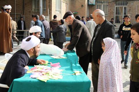 ابتکار طلاب مدرسه علمیه رسول اکرم(ص) مریانج در جذب کودکان به نماز جمعه