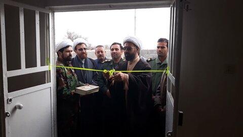 افتتاح منزل ساخته شده از سوی گروه جهادی طلاب