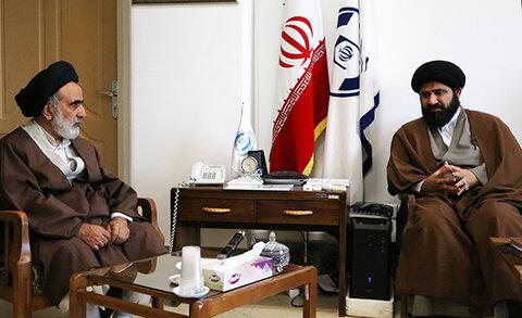 دیدار رئیس مرکز خدمات و رئیس مرکز رسیدگی به امور مساجد