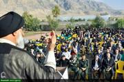 گرامیداشت نخستین شهید مدافع حرم روستای چلچلک شهرستان باغملک