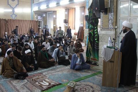 نشست «خرمشهرها و عرصه فرهنگ، نقش حوزه و روحانیت» در مدرسه علمیه معصومیه