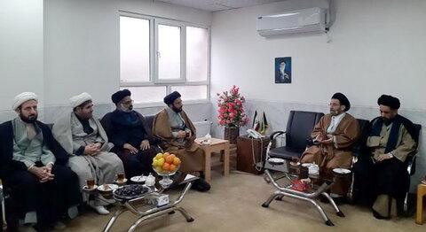 دیدار مسئولان حوزه لرستان با نماینده ولی فقیه در استان