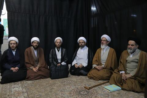 تصاویر / مراسم عزاداری وفات حضرت معصومه (س) در مدرسه علمیه علی بن موسی الرضا (ع)