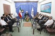 اعضای کنگره علامه بلادی بوشهری(ره) تجلیل شدند