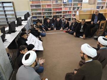 تصاویر/ بازدید دانش آموزان از مدرسه حضرت ولیعصر(عج) تبریز
