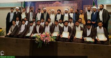 تصاویر/ همایش تجلیل از حافظان قرآن کریم مدرسه علمیه شهید طباطبایی نژاد اصفهان