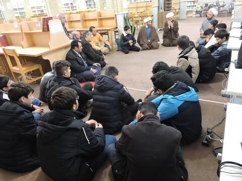 بازدید دانش آموزان تبریزی از مدرسه علمیه حضرت ولیعصر(عج)تبریز