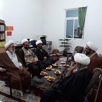 بازدید قائم مقام مدیر حوزه های علمیه از مدرسه علمیه اسلامشهر + عکس