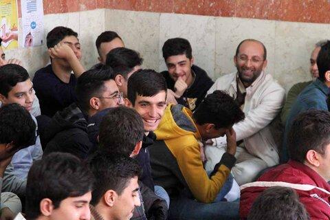 حضور امام جمعه همدان در مدارس