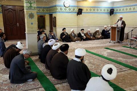 بازدید آیت الله اعرافی از پژوهشگاه حوزه و دانشگاه