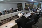 برنامه های هفته پژوهش حوزه علمیه بوشهر بررسی شد