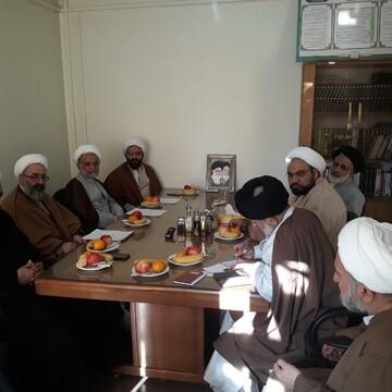 بیست و ششمین نشست نهادهای حوزوی تهران برگزار شد+ عکس