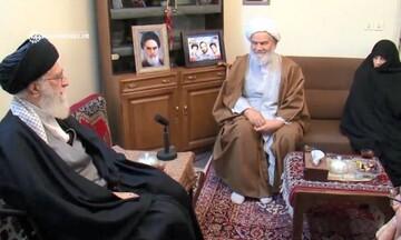 نماهنگی از دیدار رهبر انقلاب با خانواده شهیدان اعلمی