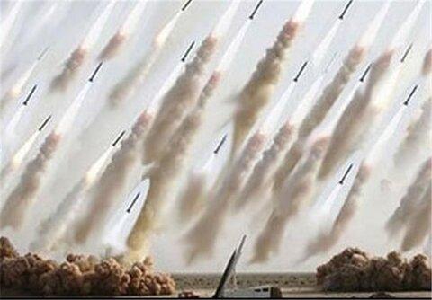 موشک های آماده شلیک به اسرائیل
