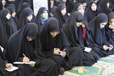 کارگاه سواد رسانه در مدرسه علمیه نرجس بیرجند