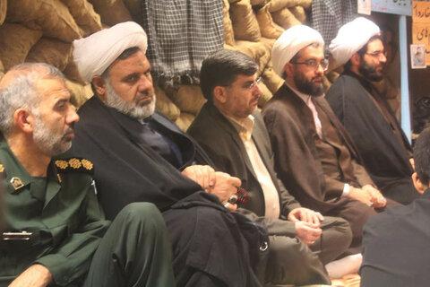 تصاویر/مراسم گرامیداشت علمای فقید مدرسه علمیه امام صادق (ع) قروه