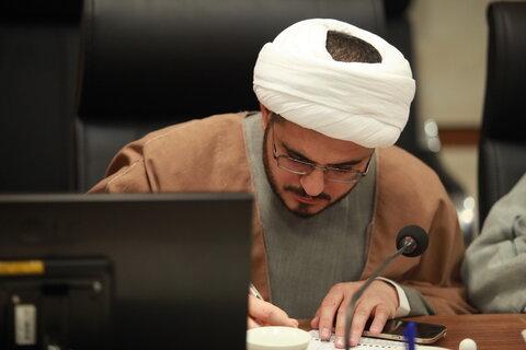 دیدار طلاب سخنران ( دیدار رمضانیه رهبر معظم انقلاب با طلاب و روحانیون) با قائم مقام مدیر حوزه های علمیه
